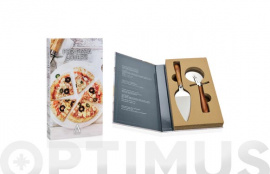 PIZZA SET 2P 18X32X4 CM