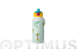 BOTELLA POP-UP CAMPUS 400 ML DOODLE